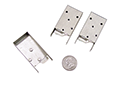 "electronic microcomponent sheet metal parts (.020""-thick nickel silver)"